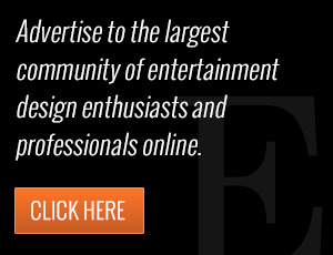 Advertise to the largest community of entertainment design enthusiasts and professionals online.